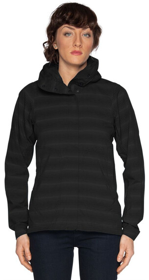 Nau W's Lightbeam Jacket Caviar Stripe (015)